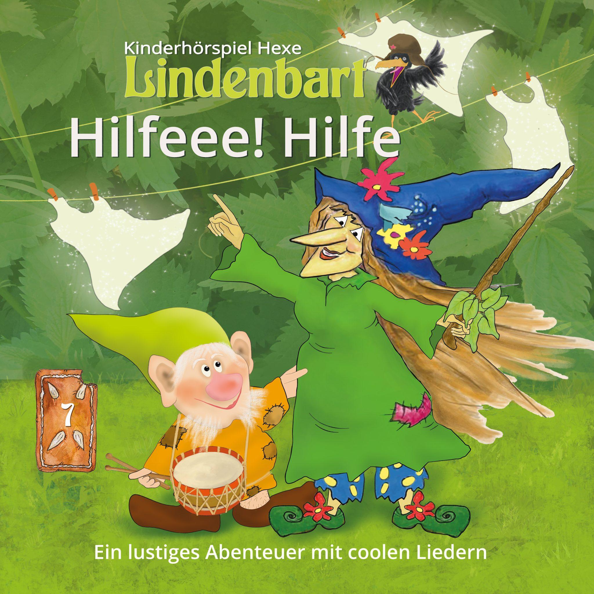 Die Hexe Lindenbart, Folge 7: Hilfeee! Hilfe